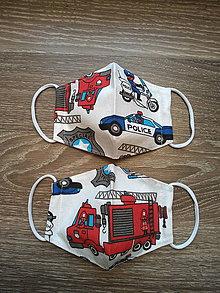 Rúška - Detské rúško auta - 11973620_
