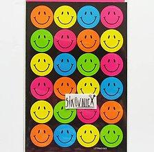 Papier - Samolepky - smile, smajlíci - 11972207_