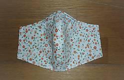 Rúška - Rúško bavlnené trojvrstvové - 11974215_