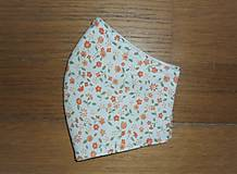 Rúška - Rúško bavlnené trojvrstvové - 11974221_