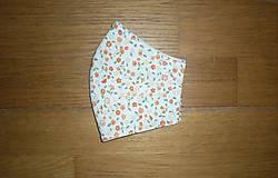 Rúška - Rúško bavlnené trojvrstvové - 11974223_