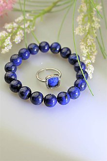 Náramky - lapis lazuli náramok - 11971743_