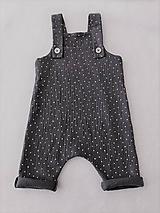 Detské oblečenie - Overal z dvojitej gázoviny  - 11973008_
