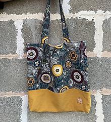 Veľké tašky - Veľká taška - rozkvitnutá - 11974141_