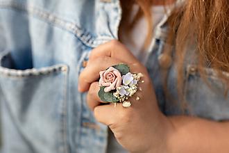 """Prstene - Kvetinový prstienok """"cez tvoje dlane"""" - 11972639_"""