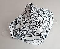 Rúška - Ochranné rúško dizajnové 3-vrstvové - Ľúbime Slovensko - 11973854_