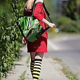 Veľké tašky - Origo taškoš kvety čary mary – limit - 11974462_