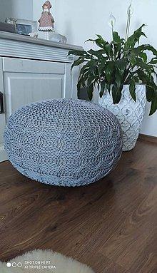Úžitkový textil - Osmičkový puf - 11974002_