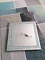 Zrkadlá - zrkadlo s kryštáľmi - 11974666_