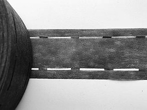 Galantéria - Podlepovací materiál do opaskov 5,5cm. - 11977445_