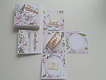 Papiernictvo - Darčeková krabička na peniaze - svadobná I - 11978087_