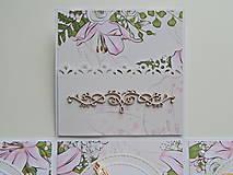 Papiernictvo - Darčeková krabička na peniaze - svadobná I - 11978091_