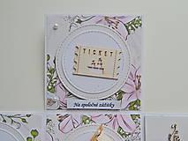 Papiernictvo - Darčeková krabička na peniaze - svadobná I - 11978093_