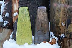 Dekorácie - Vázy bronzové, zelené -SET - 11976436_