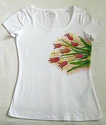 Tričká - Tulipány (M) - 11975718_