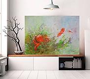 Obrazy - Kvet a motýľ - 11975534_