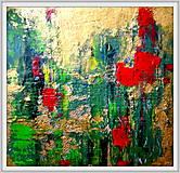 Obrazy - Tulipány v daždi - 11977829_