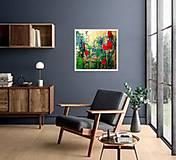 Obrazy - Tulipány v daždi - 11977838_