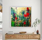 Obrazy - Tulipány v daždi - 11977839_