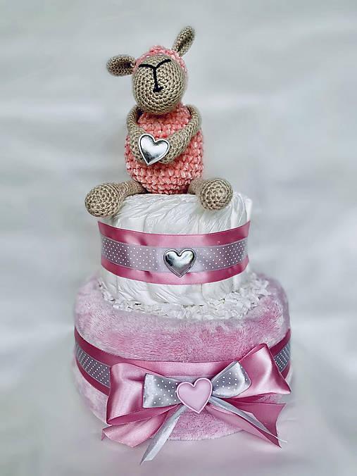Plienková torta s ovečkou