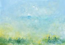 Obrazy - Ráno v modrom opare - 11978166_