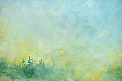 Obrazy - Ráno v modrom opare - 11978167_