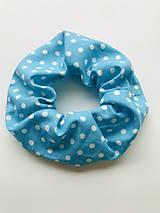 Ozdoby do vlasov - Scrunchie gumička - 11977072_