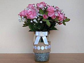 Dekorácie - Svadobná váza ❤️ - 11977798_