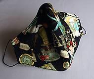 Rúška - Ochranné rúško 3-vrstvové - Alica v krajine zázrakov - 11977136_