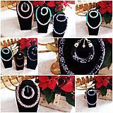 Sady šperkov - Náramky a náhrdelníky  - 11976919_