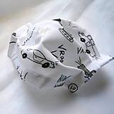 Rúška - Ochranné rúško detské - dvojvrstvové - skladom - 11977201_