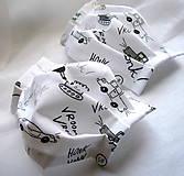 Rúška - Ochranné rúško detské - dvojvrstvové - skladom - 11977202_