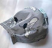 Rúška - Ochranné rúško na tvár s drôtikom - dvojvrstvové - skladom  - 11977237_