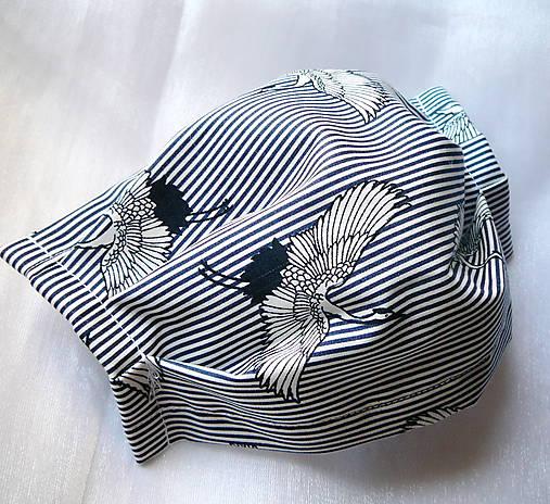 Ochranné rúško na tvár s drôtikom - dvojvrstvové - skladom