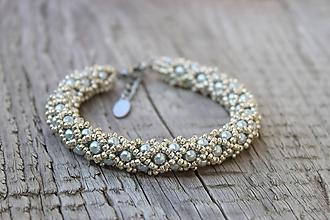 Sady šperkov - súprava strieborná (náramok PP strieborný) - 11981004_