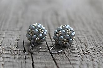 Sady šperkov - súprava strieborná (náušnice PP strieborné) - 11981028_