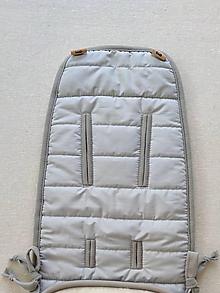 Textil - Vlnienka BRITAX GO BIG Podložka univerzálna do kočíka na mieru 100% Merino Top super wash pastelová šedá - 11982072_
