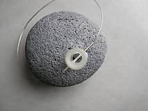 Náhrdelníky - Sklenený náhrdelník - 11978808_