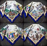 Šatky - Životné príbehy - hodvábna maľovaná šatka - 11978474_