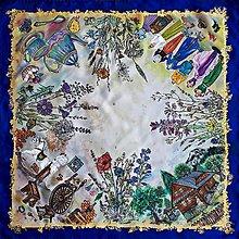 Šatky - Životné príbehy - hodvábna maľovaná šatka - 11978458_