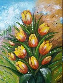 Obrazy - Tulips - 11979894_