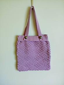 Nákupné tašky - Pletene  tašky - 11978756_