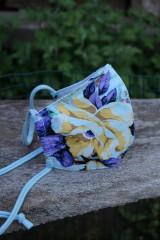 Rúška - Rúško so žltým kvetom - 11981719_