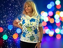 Tričká - Ručne kreslené originálne ART tričko na značkovom materiály - 11981009_