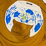 Tričká - Ručne kreslené originálne ART tričko na značkovom materiály - 11981014_