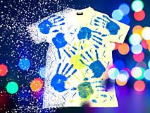Tričká - Ručne kreslené originálne ART tričko na značkovom materiály - 11981020_
