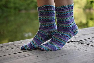 Obuv - s pravej ponožkovej vlny ( v.39-40) - 11981169_