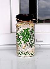 Nádoby - dóza na bylinky Herbiers - 11979117_
