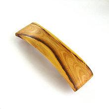 Ozdoby do vlasov - Drevená spona do vlasov - brestová veľká - 11979225_