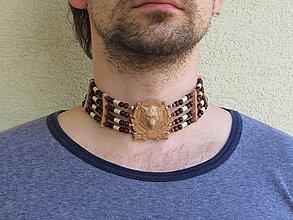 Iné šperky - Nákrčník XIV - 11980034_